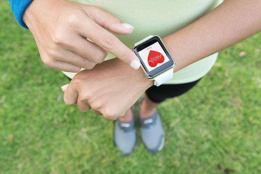 Un bracelet d'activité